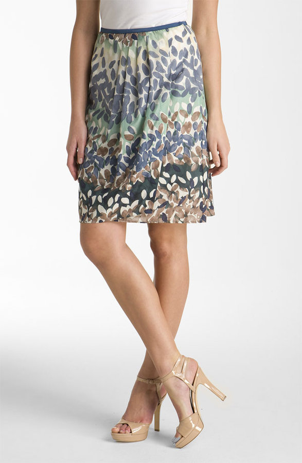 Nic + Zoe 'Enchanted Petals' Skirt