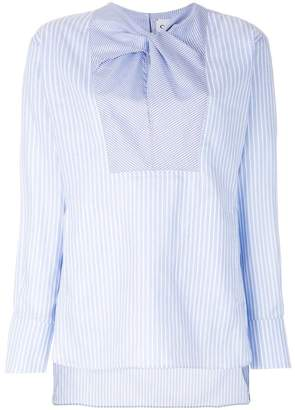 Carven long sleeved striped shirt
