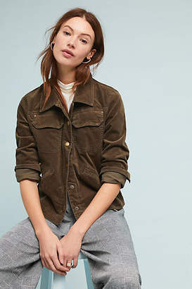 Anthropologie Corduroy Trucker Jacket