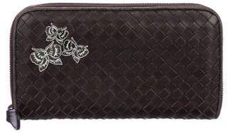 Bottega Veneta Intrecciato Butterfly Wallet