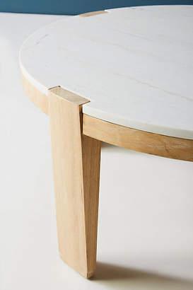 Anthropologie Lamlin Marble Coffee Table
