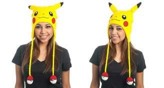 Pokemon Pikachu Big Face Laplander Beanie Hat