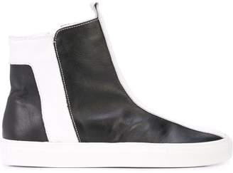 Alberto Fermani side zipped boots