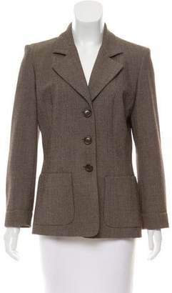 Gerard Darel Structured Tweed Blazer