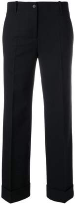 Alberto Biani rolled-cuff trousers