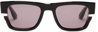 Dita Eyewear Sekton Cut Out Frame Acetate Sunglasses - Mens - Black