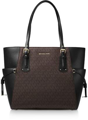 2ed8e46feb9bf2 MICHAEL Michael Kors Voyager East West Signature Tote