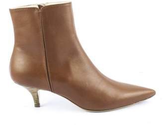 Roberto Festa Brown Calf Leather Ankle Boots