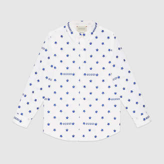 Gucci Children's star fil coupé shirt