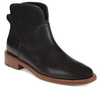 Via Spiga Women's Baxter Almond Toe Ankle Boots