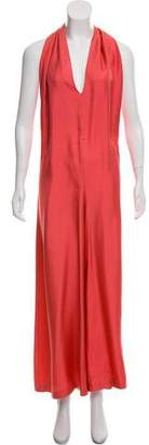 Stella McCartney Silk Wide-Leg Jumpsuit
