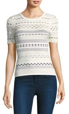 Milly Lace Knit Top
