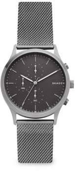 Skagen Jorn Stainless Steel Mesh Bracelet Chronograph Watch
