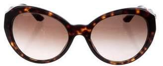 Versace Gradient Oversize Sunglasses