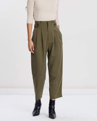 Forcast Ada Paper Bag Trousers