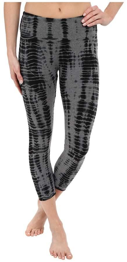 Hard Tail Flat Waist Capri Leggings Women's Workout