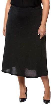 Dex Plus Knit Long Skirt