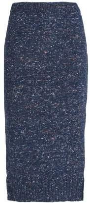 Maison Margiela Marled Knitted Midi Skirt