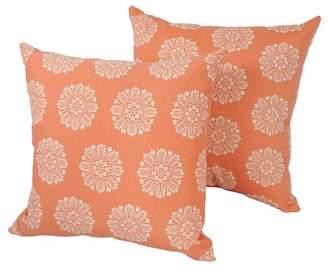 Blazing Needles Designer Outdoor Throw Pillow