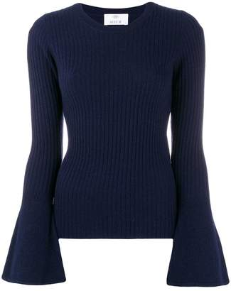 Allude wide sleeved jumper