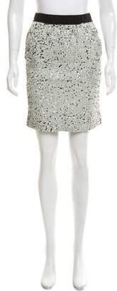 Lanvin Sequined Mini Skirt