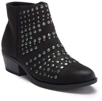 White Mountain Footwear Desire Studded Ankle Bootie