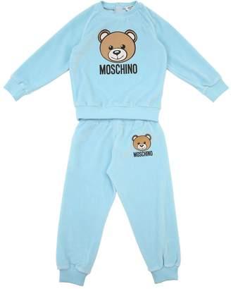 Moschino Chenille Sweatshirt & Sweatpants