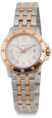 Women's Swiss Made Tango Two Tone Bracelet Watch