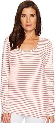 Pendleton Women's Long Sleeve Pima Cotton Stripe Tee