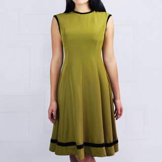 LAGOM Paris Dress Olive Green