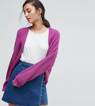 Asos Tall TALL Chunky Cardigan in Fluffy Rib