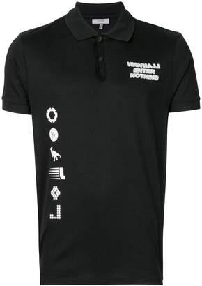 Lanvin printed polo shirt
