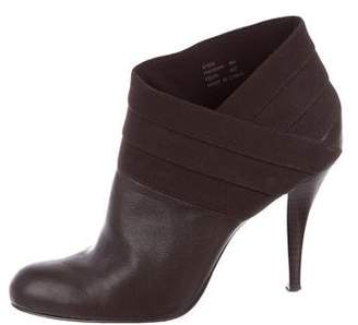 Calvin Klein Hadrian Leather Ankle Boots