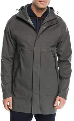 Loro Piana Shieldly Cashmere Storm System® Parka with Attached Hood