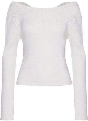 Derek Lam 10 Crosby Cable-Knit Wool And Cashmere-Blend Sweater