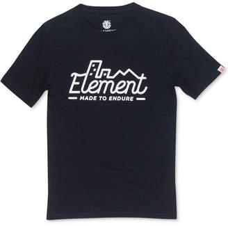 Element Men Lines Graphic T-Shirt