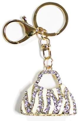 e77233163bb at Walmart · Ring Black Pureaid Rhinestone Keychain Purse Charm