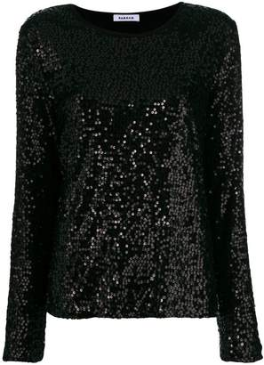 P.A.R.O.S.H. sequinned blouse