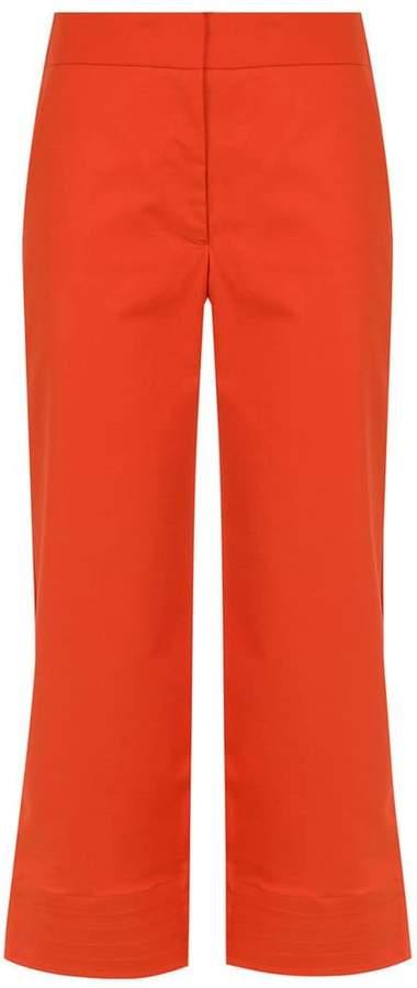 Egrey cropped pants