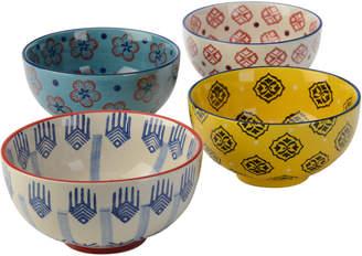 Signature Housewares Set Of Four 28Oz Bowls