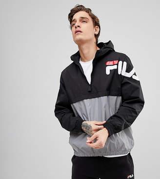 Fila Black Line Overhead Jacket With Reflective Panel
