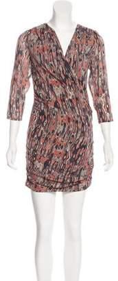 IRO Mini Print Dress