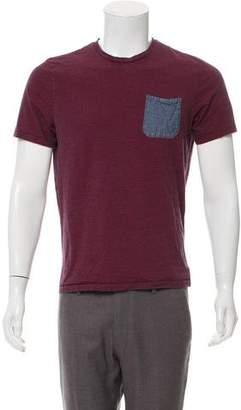 Jack Spade Striped Crew Neck T-Shirt