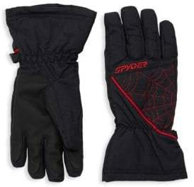 Spyder Boy's Webbed Outdoor Gloves