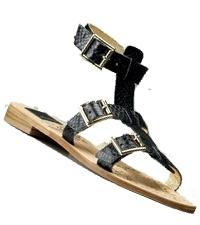 Dolce Vita - Black Bermuda Gladiator Sandal