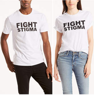 Levi's® Unisex Pride Collection Fight Stigma Print T-Shirt $29.50 thestylecure.com