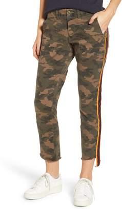 Pam & Gela Uniform Stripe Step Hem Pants