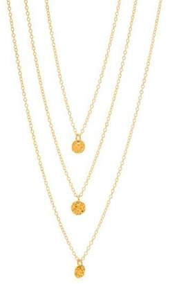 Gorjana Layered Hammered Necklace
