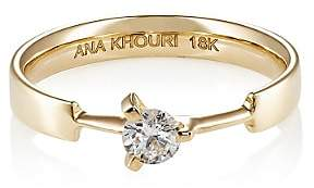 A.N.A Khouri Women's Timeless Ring-Yellow Gold