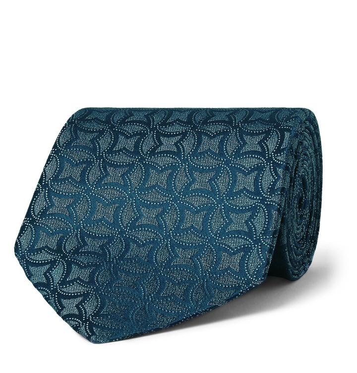 CharvetCharvet 9cm Silk-Jacquard Tie